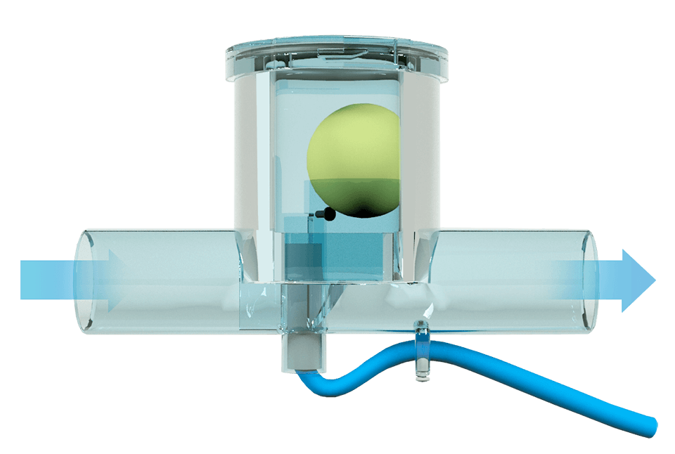 ball siphon condensate drain  u2013 perfect solution for ahu